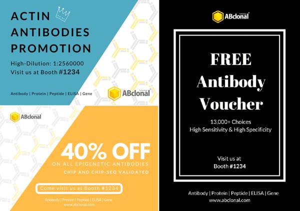 epigenetic and actin antibody promotions