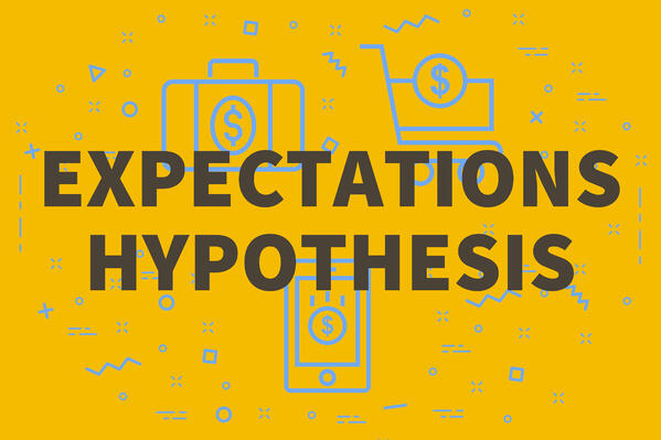expectations vs. hypothesis